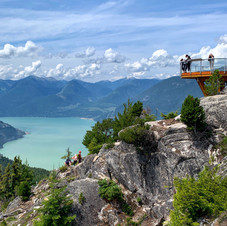 Top of the World.  Sea to Summit, Squamish.