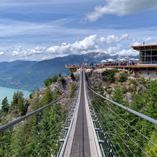 A Walk in the Sky.  Sea to Summit, Squamish.