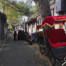 Hutong alley, Beijing.