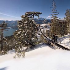 Sea-to-Sky summit suspension bridge.