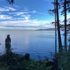 Siwash Rock, Stanley Park, Vancouver.
