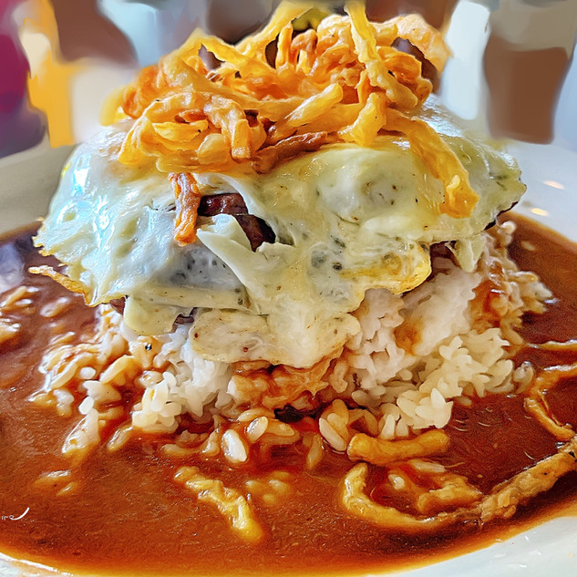 Loco Moco!  A favourite Maui treat_