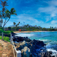 Napili Bay Morning, Maui.