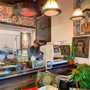 Cafe Portrait, Vancouver_