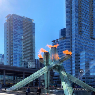 Olympic Flame, Vancouver.