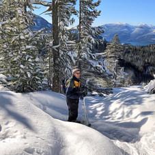 Sea-to-Sky summit snowshoe hike.