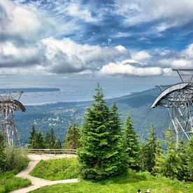 View from Grouse Mountain, Vancouver_