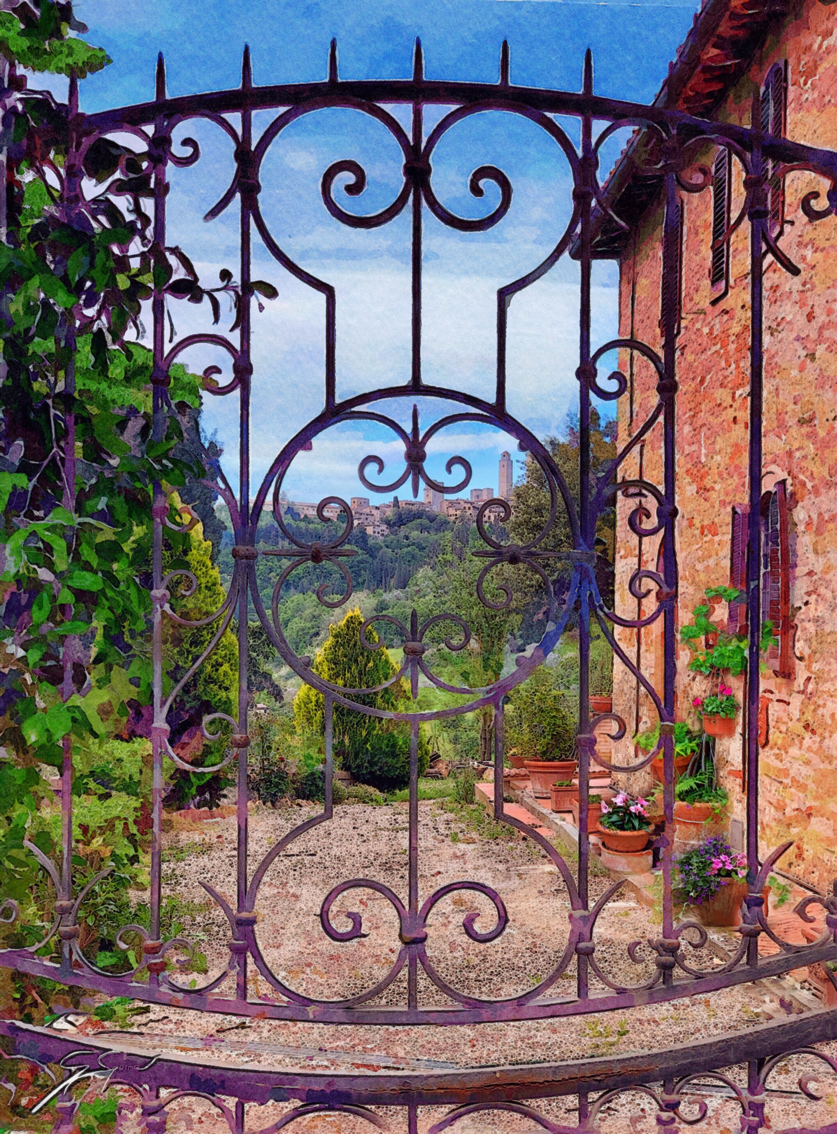 Country house, Tuscany.