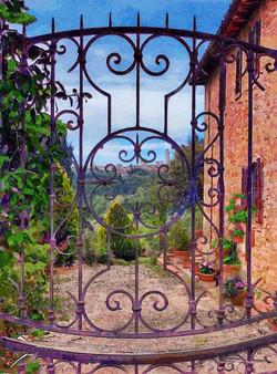 Country house, Tuscany.