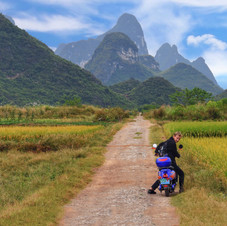 The countryside near Yangshuo, China_