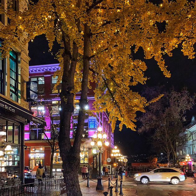 Gastown Night Scene_