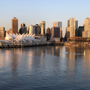 Downtown city centre, viewed from Burrard Inlet.