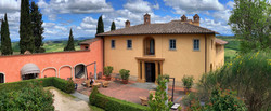 Our villa in Tuscany.