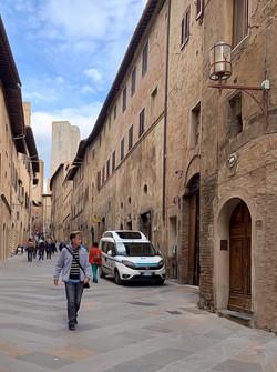 Strolling in San Gimignano_