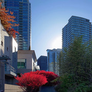 Coal Harbour high-rises, Vancouver.