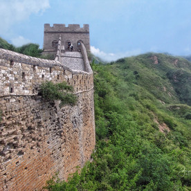 Great Wall in Summer.