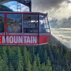 Grouse Mountain, gondola view.