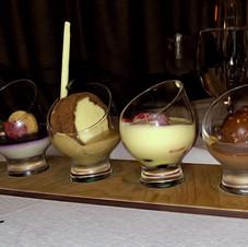 Ice cream dessert for one!  Cruise ship.