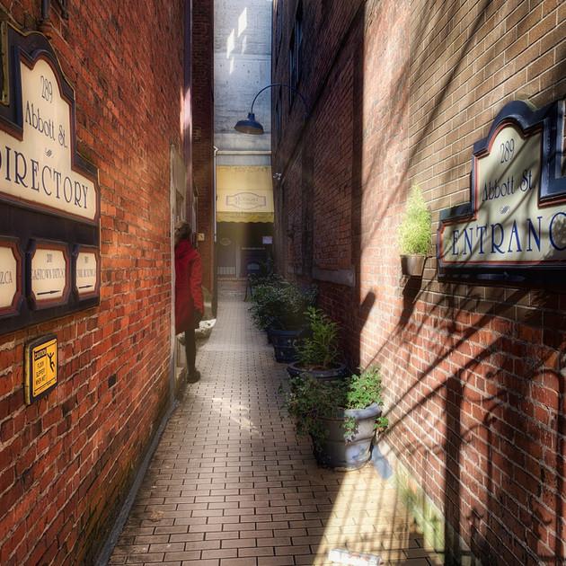 Abbott St. Alley, Vancouver_