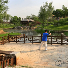 Typical park, Haidian, Beijing.