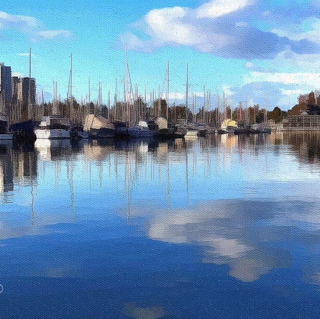 Coal Harbour, Vancouver.