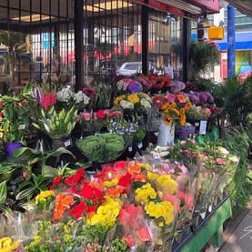 Corner store flowers.