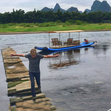 Yangshuo river.  China