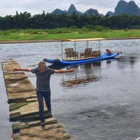 Yangshuo river.  China