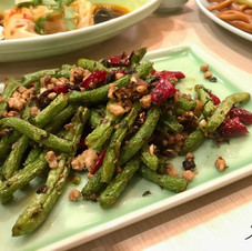 Spicy beans.  China.