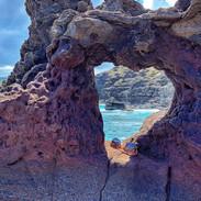 Heart-shaped rock. North Shore, Maui_