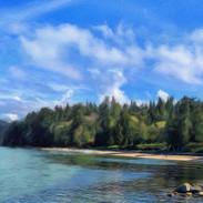 Third Beach, Stanley Park, Vancouver.