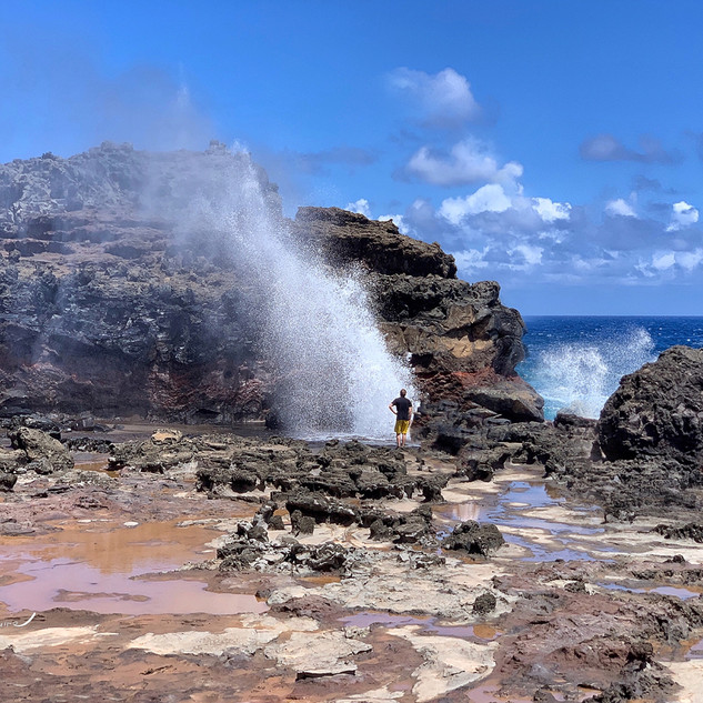 Nakalele Blowhole, North Coast, Maui_