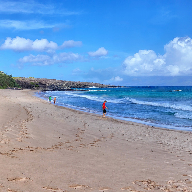 Beach at Kapalua Coastal Trail_