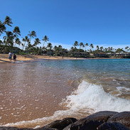 Splash.  Napili Beach_