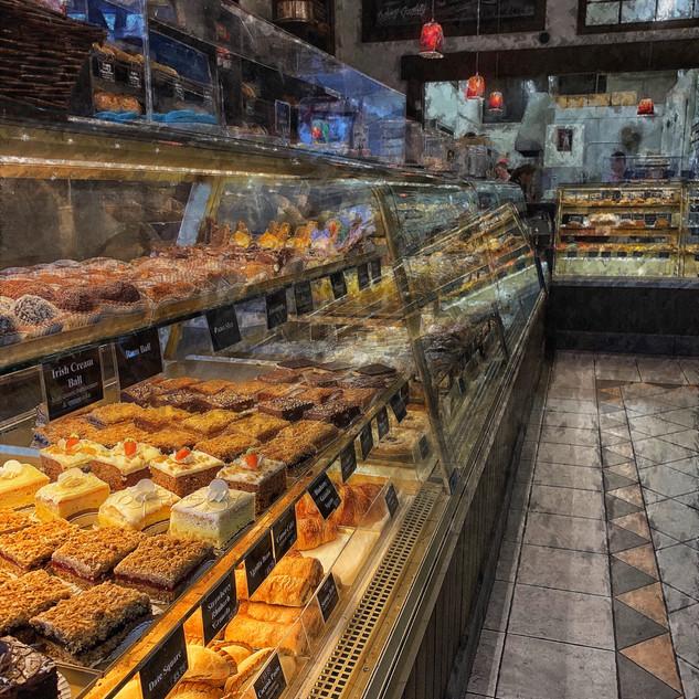 Italian bakery, Vancouver.
