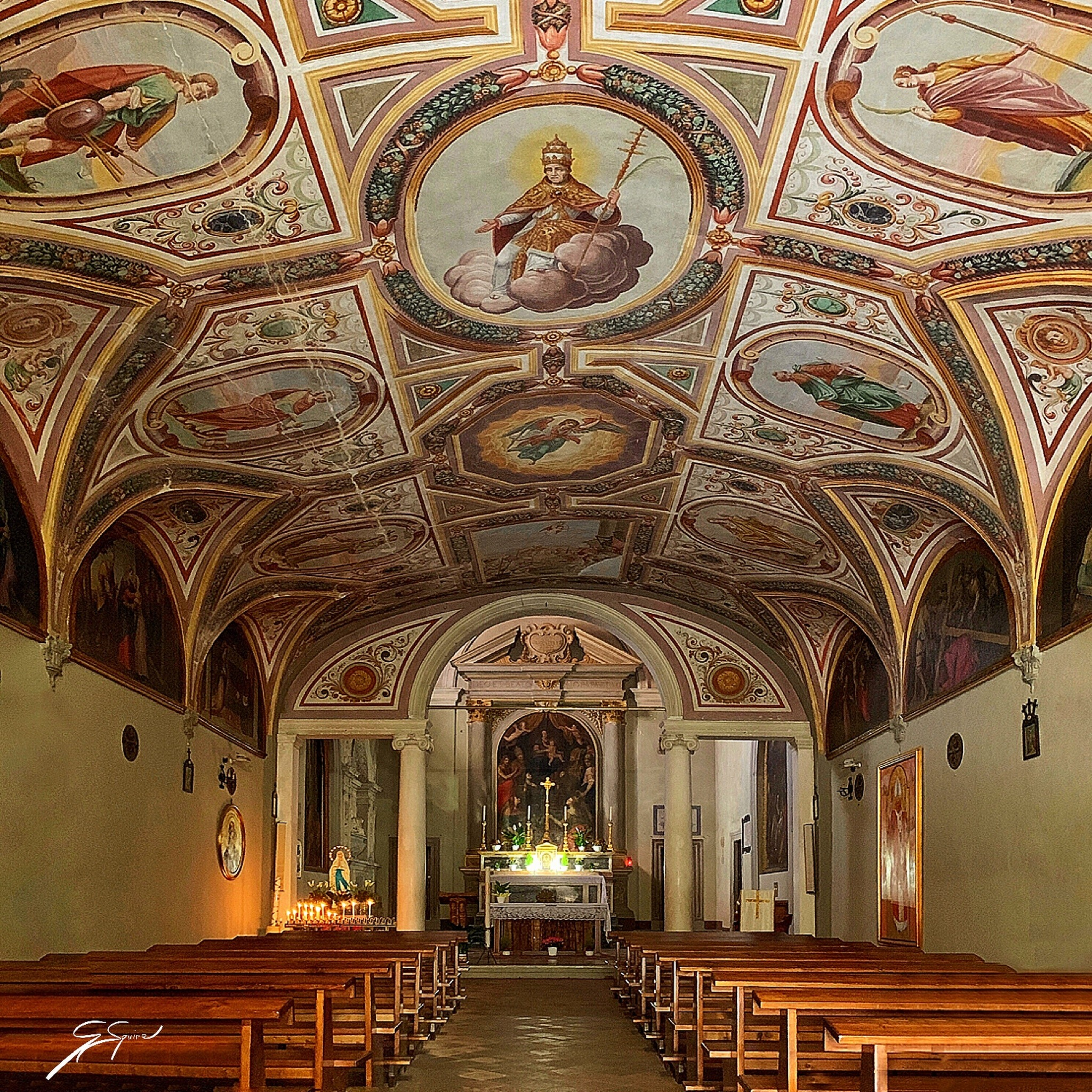 Cathedral in Volterra_