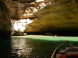 grotten van de algarve