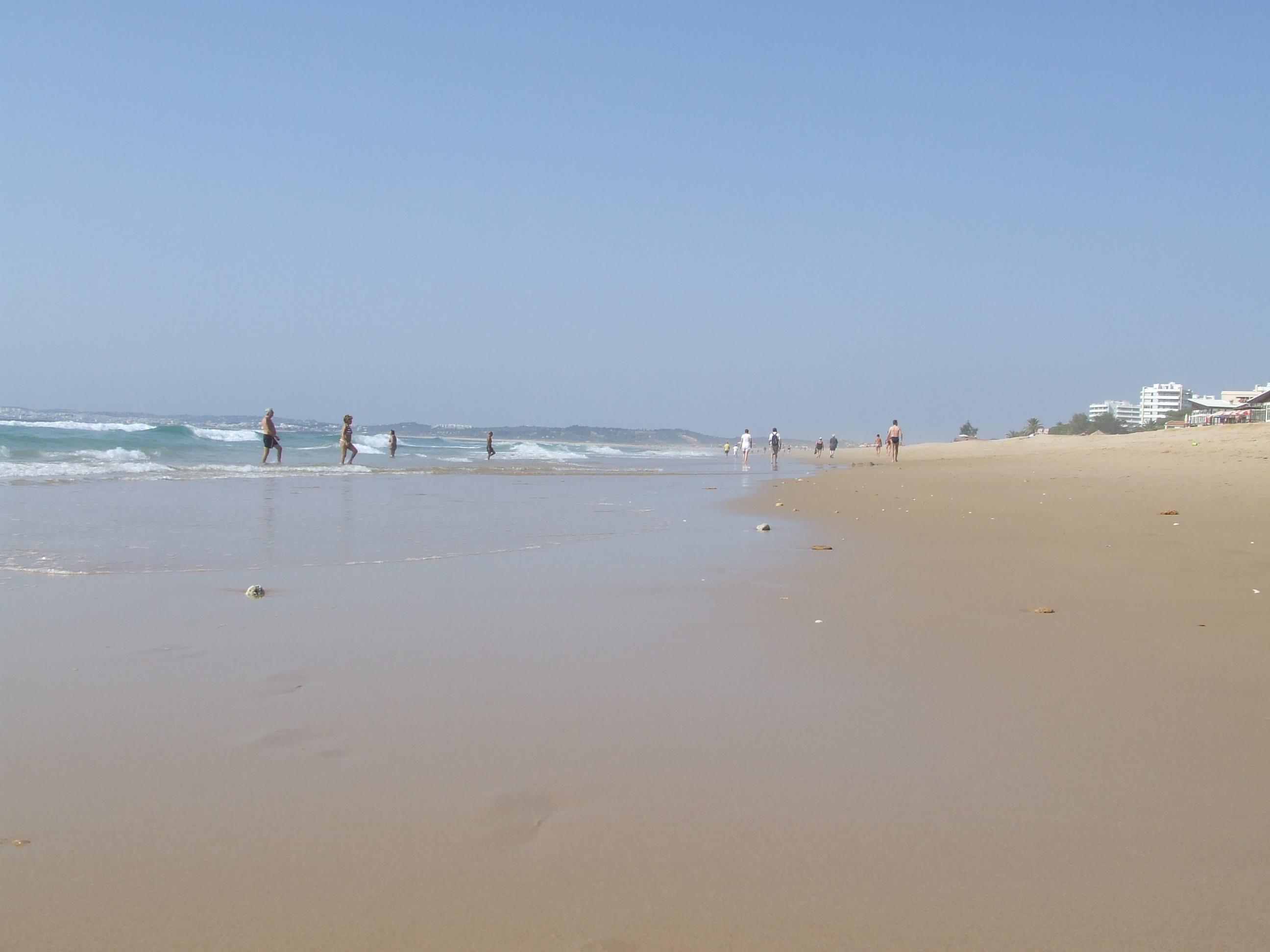 rustige stranden