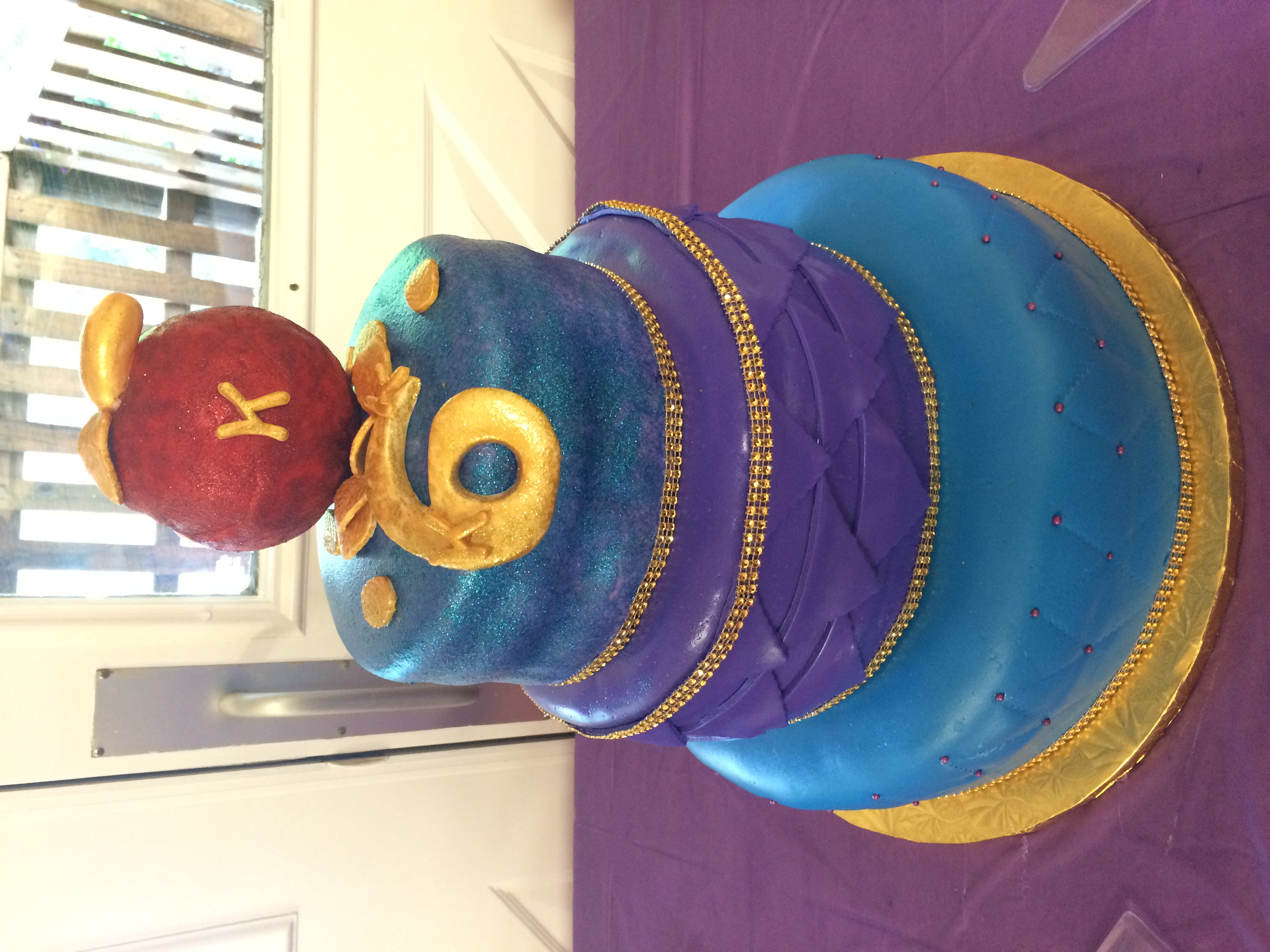 Disney Descendants Inspired Fondant