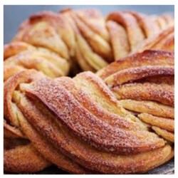 Walnut and Cinnamon Twist