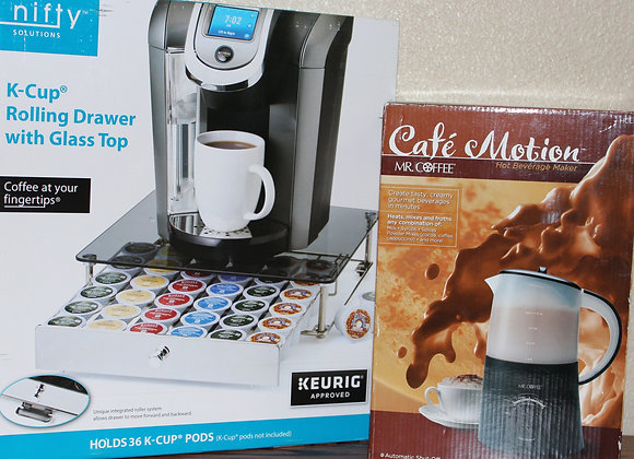 Mr. Coffee Cafe Motion & K-Cup Tray