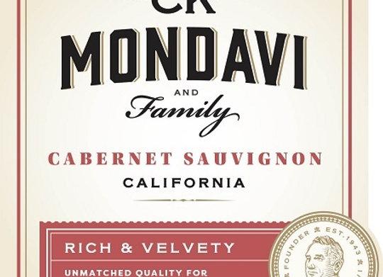 C.K. Mondavi 2016 Cabernet Sauvignon (1 case)