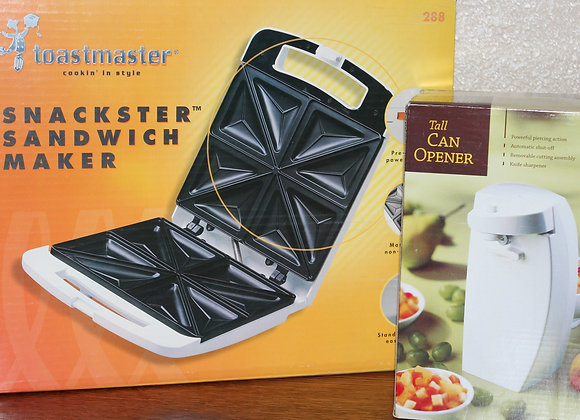 Toastmaster Sandwich Maker & Can Opener