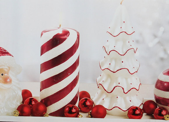 Christmas Candle Set 4pc