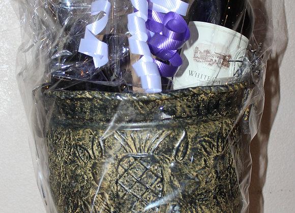 Exquisite Wine Basket