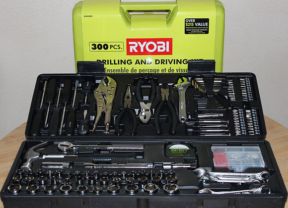 Ryobi Drill & Tool Sets