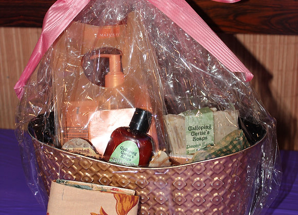 Galloping Gertie Basket & a bottle of Bray Vineyards Wine