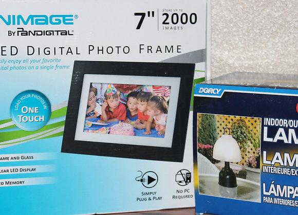 Photo Frame & Lamp