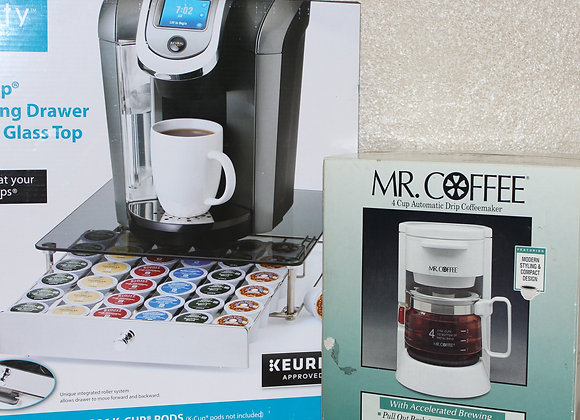 Mr. Coffee & K-Cup Tray