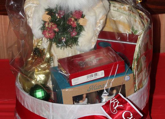 Santa Christmas Basket